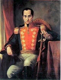 Bolívar en Caracas