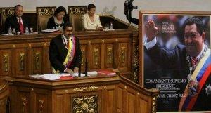 Maduro es juramentado como Presidente de la República