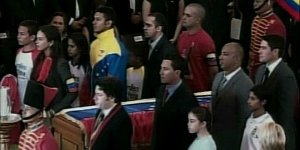 Oficio Religioso en funeral de Chávez