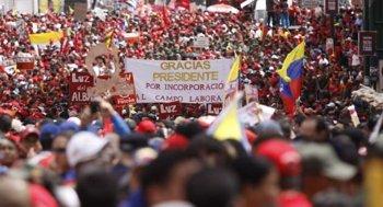 Pueblo de Venezuela a Favor de Chávez