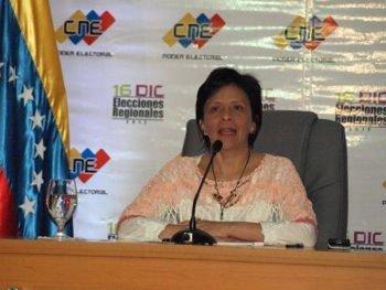 Cierre Mesa electorales. Vice Presidente